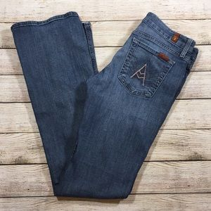 """7 for All Mankind """"A Pocket"""" Size 29"""